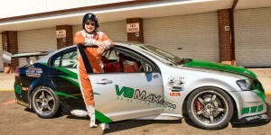Driving lesson in Race car